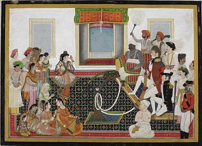 Mahadaji Sindhia Art Print