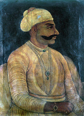 Fine Art India Painting - Maharaja Balwant Singh by Granger