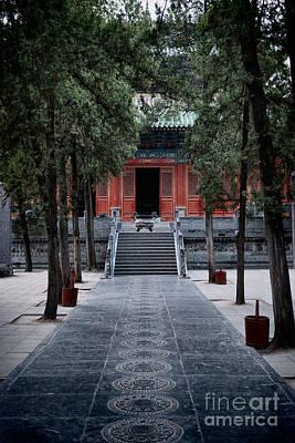 Shaolin Photograph - Mahavira Hall Of The Shaolin Temple In Dengfeng China by Oleksiy Maksymenko