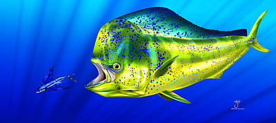 Painting - Mahi by Hayden Hammond