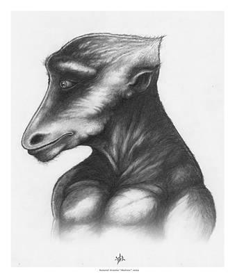 Tantra Drawing - Mahloo by Natanel Araeha