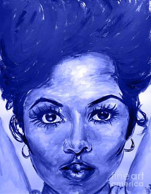 Diana Ross Painting - Mahogany Remixed by Patrick Smith