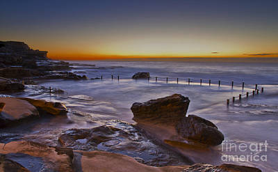 Maroubra Photograph - Mahon Pool Sunrise - Maroubra - Nsw - Australia by Bryan Freeman