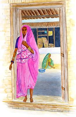Painting - Mahula Drying by Patricia Beebe
