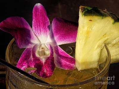 Photograph - Mai Tai by Peggy Hughes