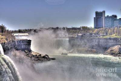 Art Print featuring the photograph Maid Of The Mist by Jim Lepard