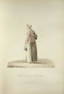 Maid Servant Of Rotterdam Art Print by British Library