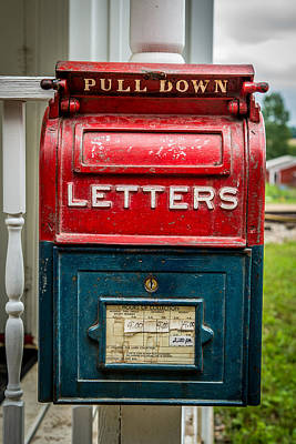 Mail Box Photograph - Mail Box by Paul Freidlund