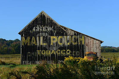 Mail Pouch Barn Photograph - Mail Pouch Barn by Paul Ward
