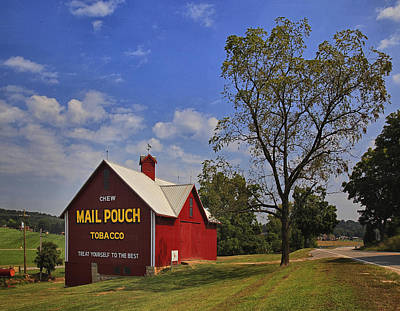 Mail Pouch Barn Art Print by Wendell Thompson