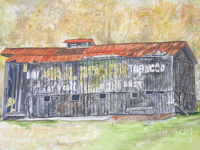 Mail Pouch Barn Painting - Mail Pouch Beauty by Peggy Dickerson