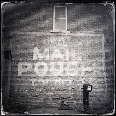 Mail Pouch Photograph - Mail Pouch Tobacco by Natasha Marco