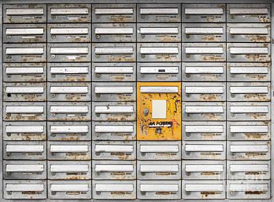 Photograph - Mail Server by Maurizio Bacciarini