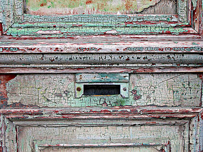 Photograph - Mail Slot by Ethna Gillespie