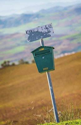 Mail Box Photograph - Mailbox, Spain by Ken Welsh