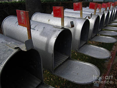 Photograph - Mailboxes by Dan Julien