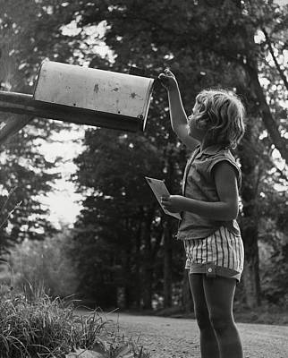 Mail Box Photograph - Mailing Letters by Edward Lettau