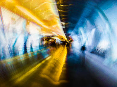 Art Print featuring the photograph Main Access Tunnel Nyryx Station by Alex Lapidus