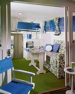 Photograph - Main Cabin Of A Boat by Bill Margerin
