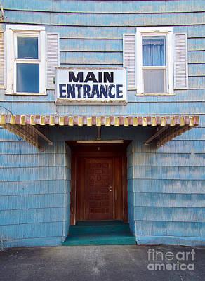 Asphalt Digital Art - Main Entrance by MaryJane Armstrong