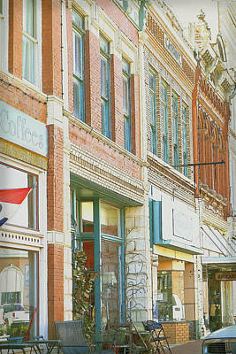 Main Street America Street Scene Photograph Art Print by Ann Powell