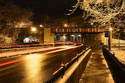 Photograph - Main Street At Csx Bridge by Dana Sohr