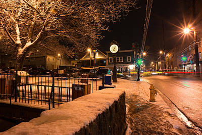 Photograph - Main Street At Old B And O Station by Dana Sohr