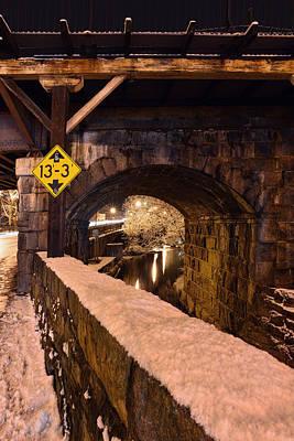 Photograph - Main Street At Old B And O Railroad Bridge by Dana Sohr