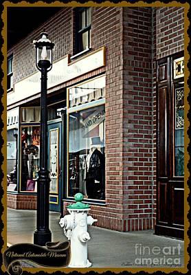 Photograph - Main Street  by Bobbee Rickard