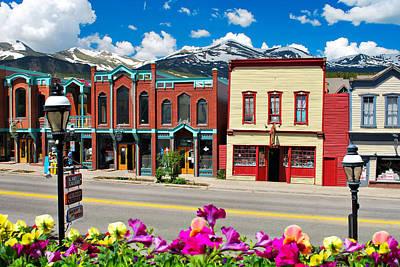 Photograph - Main Street - Breckenridge Colorado by Gregory Ballos