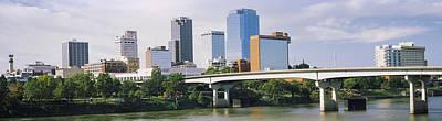 Main Street Bridge Across The Arkansas Art Print