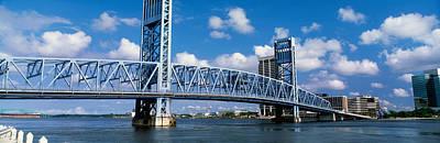 Main Street Bridge, Jacksonville Art Print by Panoramic Images