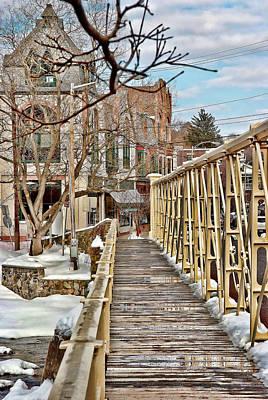 Photograph - Main Street Bridge by Michael Dorn