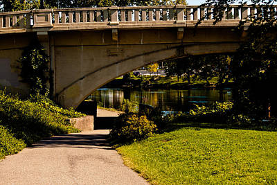 Joeseph Photograph - Main Street Bridge Niles Michigan 2013 by Amy Lingle