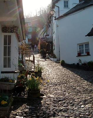 Photograph - Main Street Clovelly by Richard Brookes