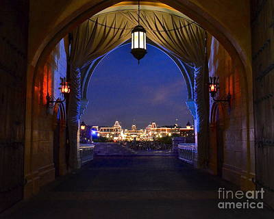 Photograph - Main Street Lights by Carol  Bradley