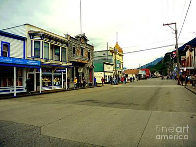 Photograph - Main Street Skagway by John Potts