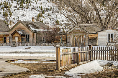 Bannack State Park Montana Photograph - Main Street by Sue Smith