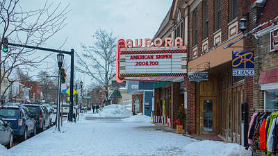 Photograph - Main Street Theater by Guy Whiteley