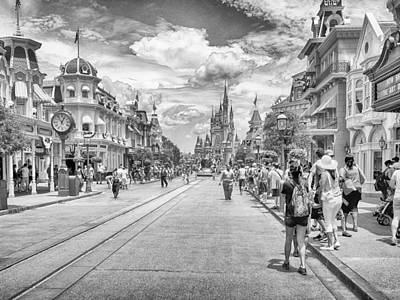 Photograph - Main Street Usa by Howard Salmon