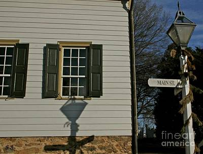 Photograph - Main Street Usa Old Salem Nc by Geri Glavis