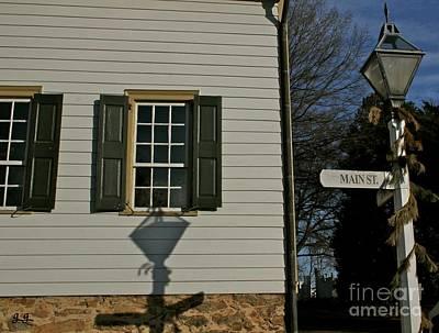 Photograph - Main Street Usa Old Salem Nc by Geri Glavis
