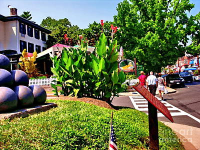 Photograph - Main Street With Logan Inn by Jacqueline M Lewis