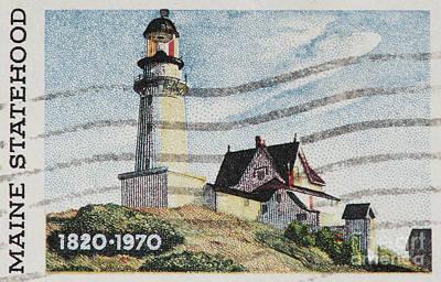 Maine 1820-1970 Art Print by Andy Prendy