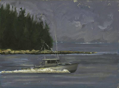 Painting - Maine Coast by John Reynolds