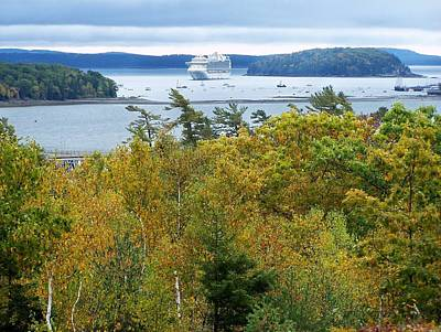 Photograph - Maine Harbor by Gene Cyr