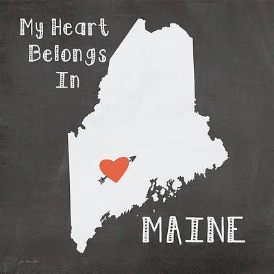 Maine Painting - Maine by Jo Moulton