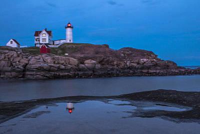Cape Neddick Maine Lighthouse  Print by John McGraw