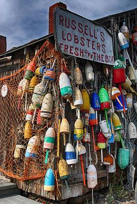 Photograph - Maine Lobster Shack by Pamela Hodgdon