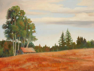 North Haven Island Painting - Maine Manor by Tommy Thompson